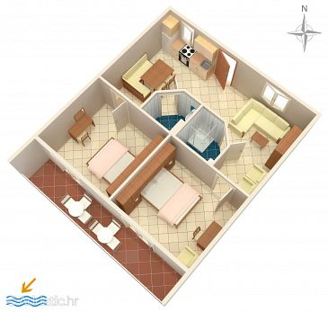 Apartment A-4801-a - Apartments Selce (Crikvenica) - 4801