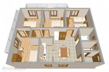 Apartment A-482-a - Apartments Grebaštica (Šibenik) - 482