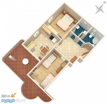 Apartment A-4820-a - Apartments Lokva Rogoznica (Omiš) - 4820