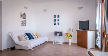 Rastići, Living room u smještaju tipa apartment, dostupna klima i WIFI.