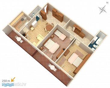Apartment A-4829-a - Apartments Baška Voda (Makarska) - 4829