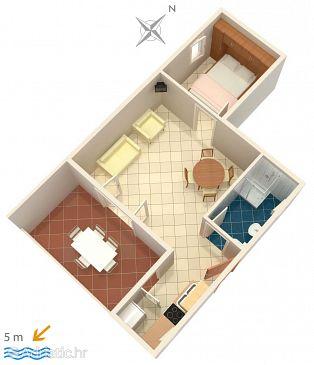 Apartment A-4839-a - Apartments Zečevo Rtić (Rogoznica) - 4839