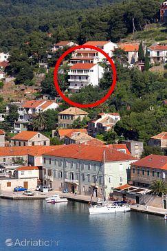 Property Jelsa (Hvar) - Accommodation 4854 - Apartments with pebble beach.