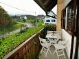 Balcony - Apartment A-4861-a - Apartments and Rooms Rastovača (Plitvice) - 4861