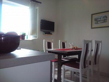 Grebaštica, Dining room u smještaju tipa apartment, WIFI.