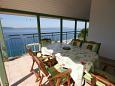 Terrace - Apartment A-4878-a - Apartments Živogošće - Porat (Makarska) - 4878