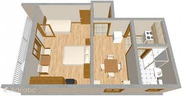 Apartment A-488-a - Apartments Pirovac (Šibenik) - 488