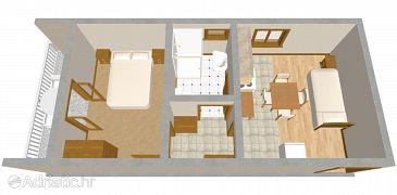 Apartment A-488-e - Apartments Pirovac (Šibenik) - 488