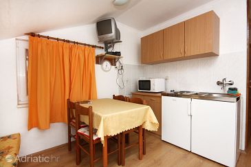 Pomena, Dining room u smještaju tipa apartment, dopusteni kucni ljubimci.