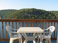 Terrace - Studio flat AS-4921-a - Apartments Polače (Mljet) - 4921