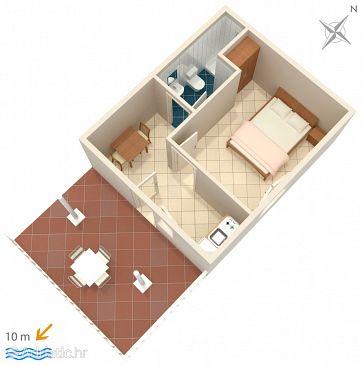 Apartment A-4948-b - Apartments Saplunara (Mljet) - 4948