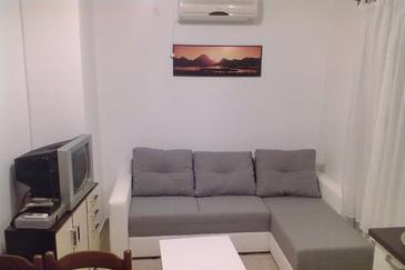 Barbat, Pokój dzienny w zakwaterowaniu typu apartment, WIFI.