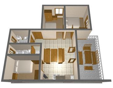Dom K-499 - Willa Uvala Soline (Pašman) - 499