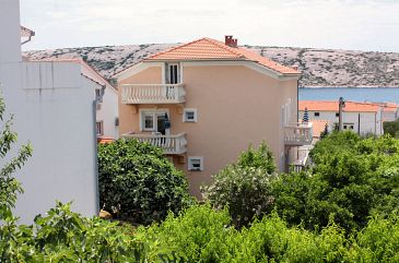 Property Barbat (Rab) - Accommodation 4994 - Apartments with pebble beach.