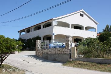 Property Lopar (Rab) - Accommodation 5024 - Apartments with sandy beach.