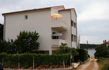 Property Barbat (Rab) - Accommodation 5035 - Apartments near sea with pebble beach.