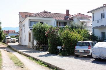 Property Barbat (Rab) - Accommodation 5069 - Apartments near sea with pebble beach.