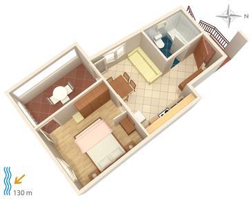 Apartament A-5086-a - Apartamenty Tisno (Murter) - 5086