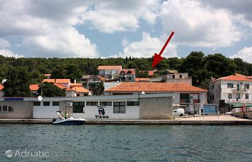 Property Tisno (Murter) - Accommodation 5094 - Vacation Rentals near sea with pebble beach.
