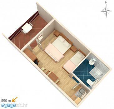 Studio flat AS-5102-a - Apartments Murter (Murter) - 5102