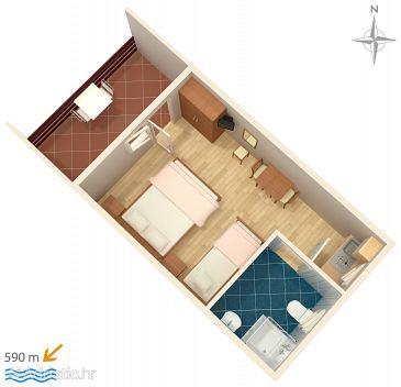 Studio flat AS-5102-d - Apartments Murter (Murter) - 5102
