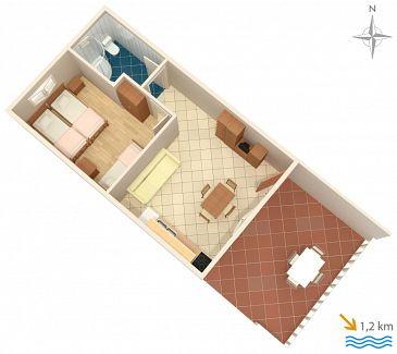 Apartament A-5108-a - Apartamenty Jezera (Murter) - 5108
