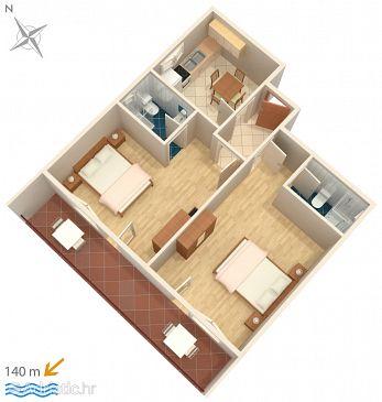 Apartment A-5130-a - Apartments Tisno (Murter) - 5130