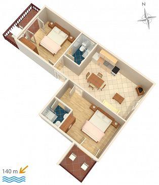 Apartament A-5130-b - Apartamenty Tisno (Murter) - 5130