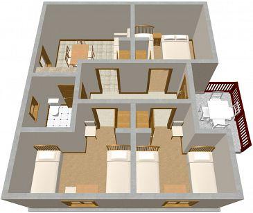 Apartament A-514-a - Apartamenty Podaca (Makarska) - 514