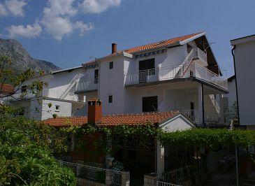 Obiekt Podaca (Makarska) - Zakwaterowanie 514 - Apartamenty blisko morza ze żwirową plażą.