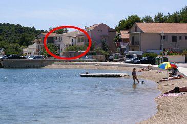 Obiekt Rogoznica (Rogoznica) - Zakwaterowanie 5144 - Apartamenty blisko morza ze żwirową plażą.