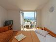 Bedroom - Studio flat AS-5153-c - Apartments Zaostrog (Makarska) - 5153