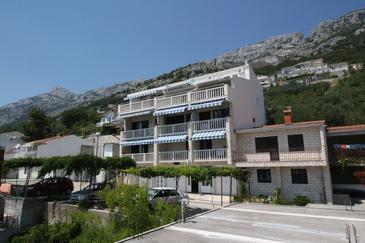Obiekt Pisak (Omiš) - Zakwaterowanie 5154 - Apartamenty ze żwirową plażą.