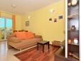 Living room - Apartment A-5158-a - Apartments Slatine (Čiovo) - 5158