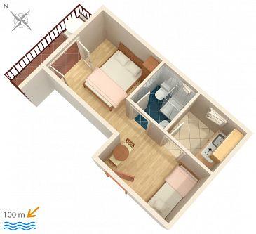 Studio flat AS-516-c - Apartments Podaca (Makarska) - 516