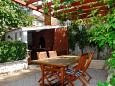 Courtyard Seget Vranjica (Trogir) - Accommodation 5160 - Apartments and Rooms near sea with pebble beach.