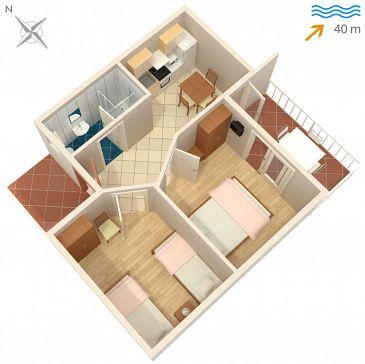 Apartament A-5166-c - Apartamenty Rogač (Šolta) - 5166