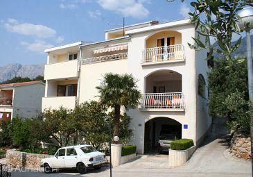 Objekt Podgora (Makarska) - Ubytovanie 518 - Ubytovanie blízko mora s kamienkovou plážou.