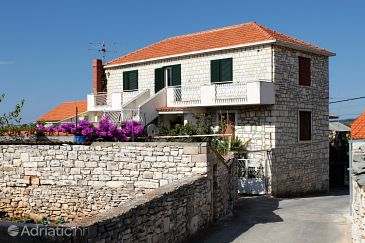 Property Gornje selo (Šolta) - Accommodation 5189 - Apartments with pebble beach.