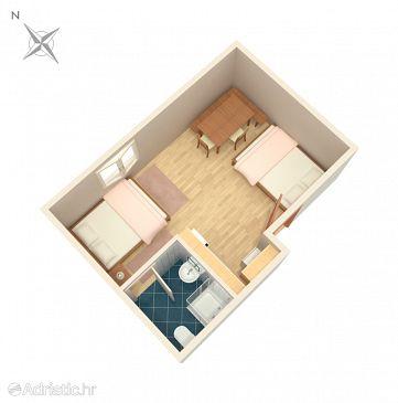 Studio flat AS-5195-b - Apartments and Rooms Poljanak (Plitvice) - 5195