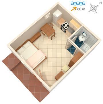 Studio AS-5211-a - Apartamenty Stomorska (Šolta) - 5211
