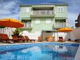 Property Okrug Gornji (Čiovo) - Accommodation 5218 - Apartments near sea with pebble beach.