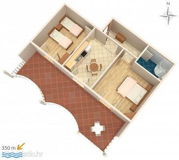 Apartment A-522-f - Apartments Mandre (Pag) - 522
