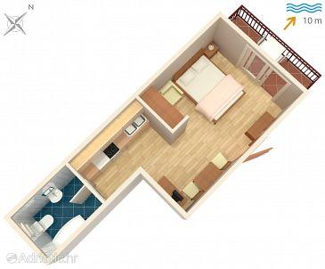 Studio flat AS-5220-a - Apartments Arbanija (Čiovo) - 5220