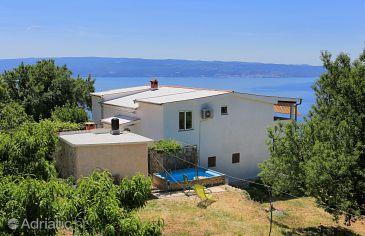 Property Podstrana (Split) - Accommodation 5225 - Apartments with pebble beach.