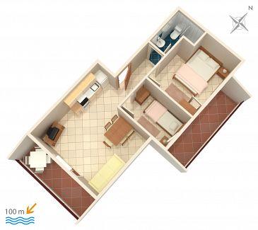 Apartament A-5229-b - Apartamenty Vinišće (Trogir) - 5229