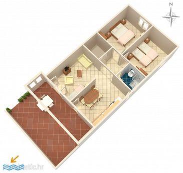 Apartment A-523-b - Apartments Mandre (Pag) - 523