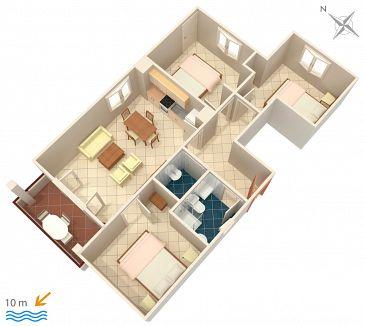 Apartament A-5231-a - Apartamenty Uvala Pokrivenik (Hvar) - 5231
