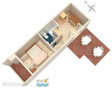Apartment A-5231-b - Apartments Uvala Pokrivenik (Hvar) - 5231