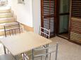 Terrace - Studio flat AS-5231-f - Apartments Uvala Pokrivenik (Hvar) - 5231